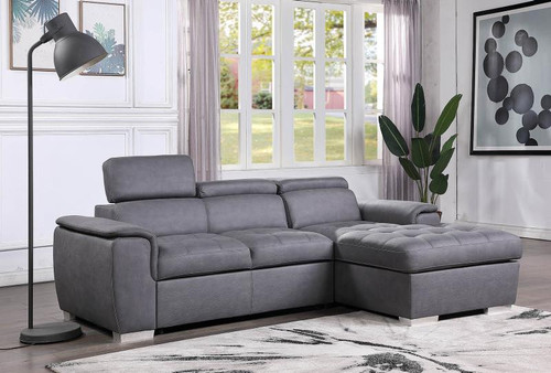 2PC Diego Sectional With Pull-Out Bed