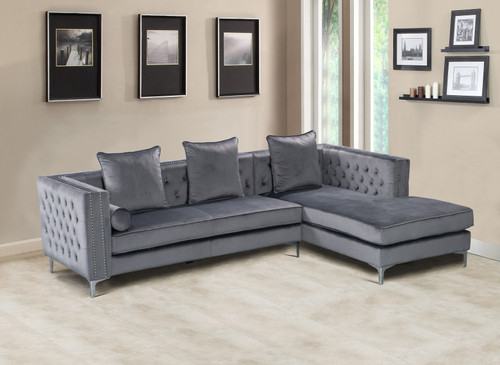 Ava Sectional Grey