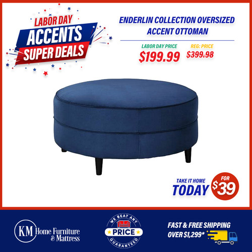 Enderlin Collection Oversized Accent Ottoman