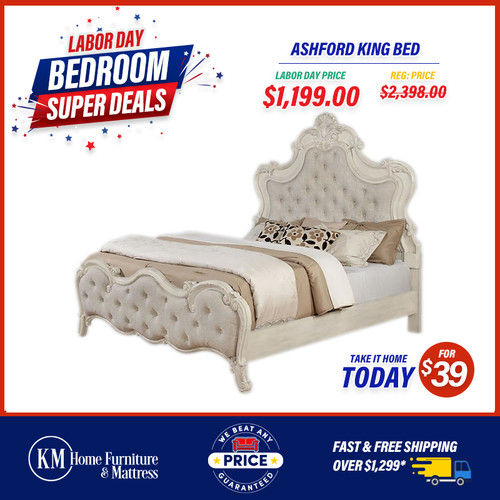 Ashford King Bed