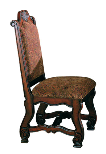 2 Pc Neo Renaissance Side Chair Set Special single chair
