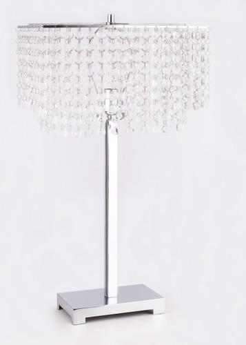 Paradise Table Lamp - 6215T-SV-1