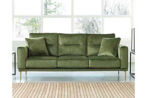 Macleary Modern Aesthetic Sofa Moss