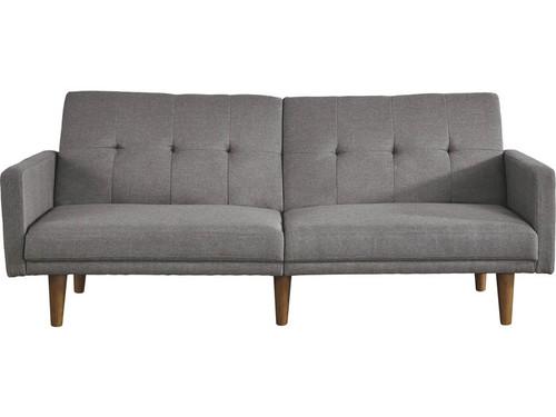 Signature Design Gaddis Gray Flip Flop Sofa with USB Drive