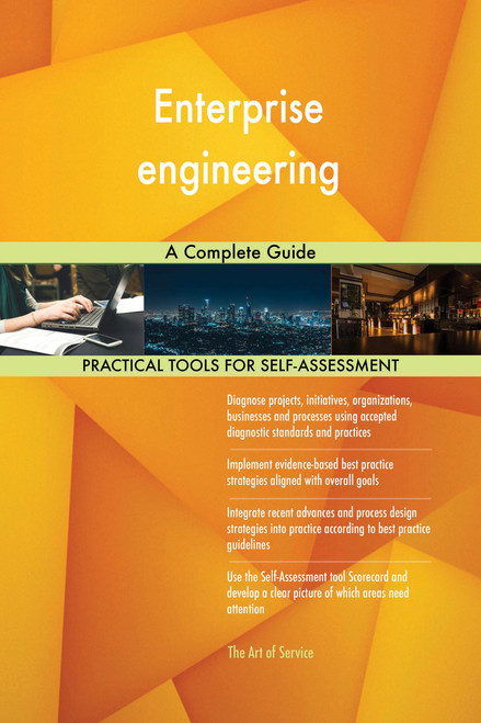 Enterprise engineering A Complete Guide