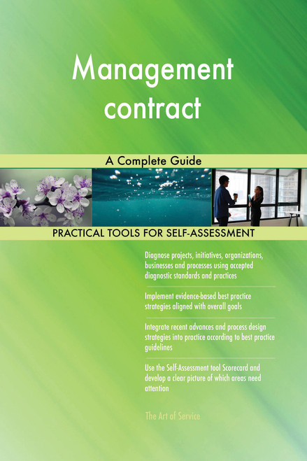 Management contract A Complete Guide