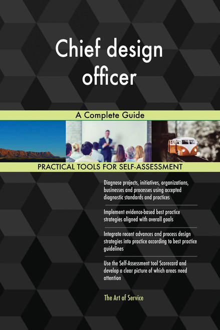 Chief design officer A Complete Guide