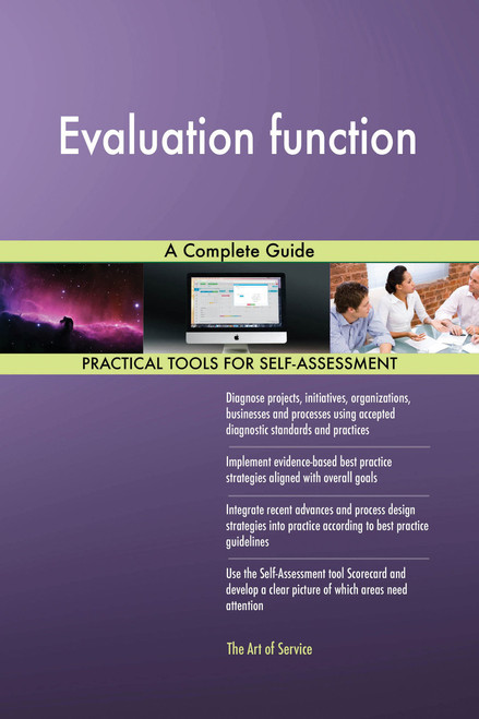 Evaluation function A Complete Guide