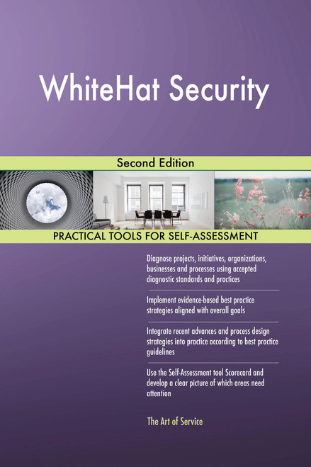 WhiteHat Security Second Edition