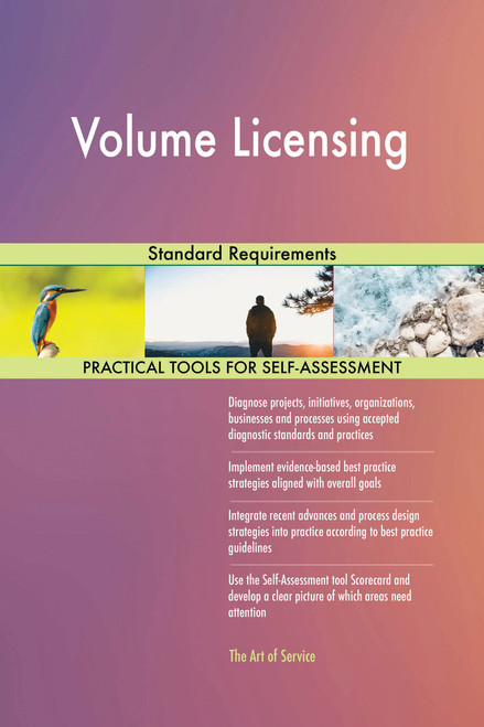 Volume Licensing Standard Requirements