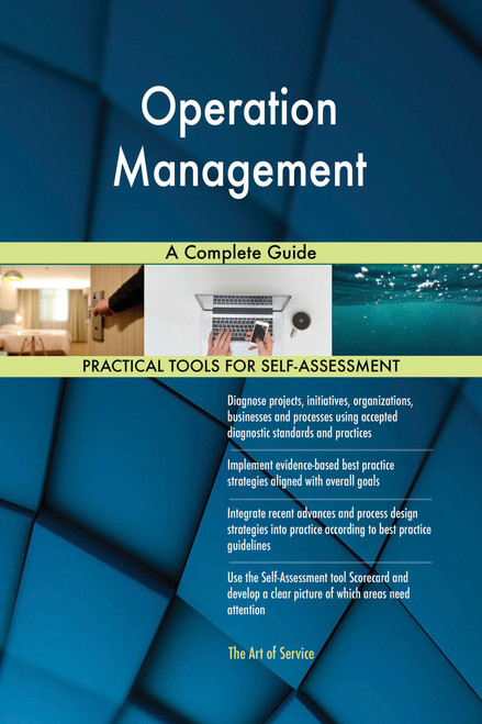 Operation Management A Complete Guide