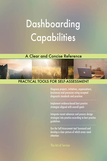 Dashboarding Capabilities A Clear and Concise Reference