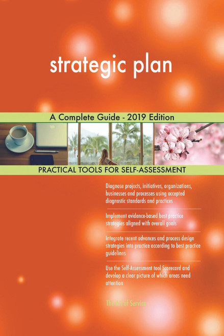 strategic plan A Complete Guide - 2019 Edition