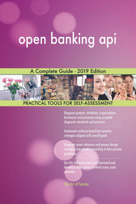 open banking api A Complete Guide - 2019 Edition