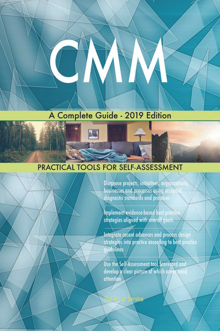 CMM A Complete Guide - 2019 Edition