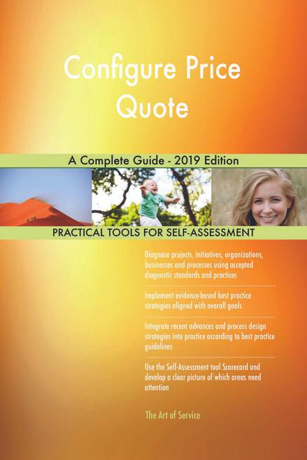 Configure Price Quote A Complete Guide - 2019 Edition