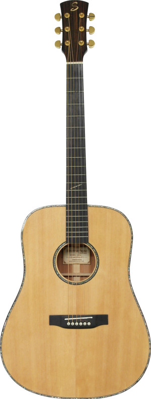 Stretton Payne D81 ALL SOLID Dreadnought Acoustic Guitar SOLID Spruce Top SOLID Mahogany Back And SOLID Mahogany Sides