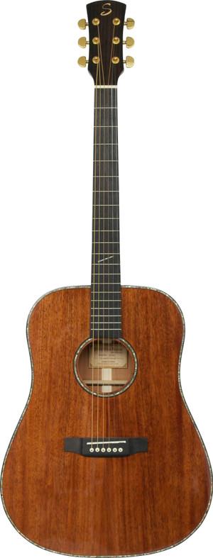 Stretton Payne D82 ALL SOLID MAHOGANY Dreadnought Acoustic Guitar SOLID Mahogany Top SOLID Mahogany Back SOLID Mahogany Sides