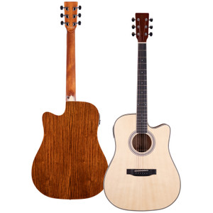 Stretton Payne Signature Series, Dreadnought Acoustic Guitar, Full Size, Steel String, Englemann Spruce Top, AD-10CEQN