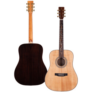 Stretton Payne Professional Signature Series, Solid Top Dreadnought Acoustic Guitar, Full Size, Steel String, Solid Spruce Top, ADS-69
