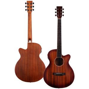 Stretton Payne Signature Series, Grand Auditorium Acoustic Guitar, Full Size, Steel String, Mahogany Top, AG-12CEQ