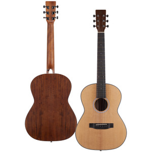 Stretton Payne Signature Series, Travel Mini Acoustic Guitar, 36 inch 3/4 size, Steel String, Spruce Top, AM-36H