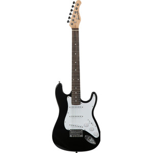 Stretton Payne Kids Electric Guitar - Age 7-11 - Black