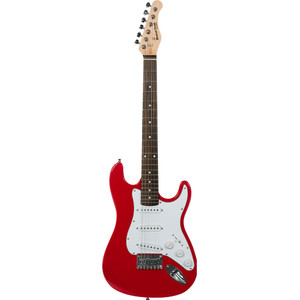 Stretton Payne Kids Electric Guitar - Age 7-11 - Red