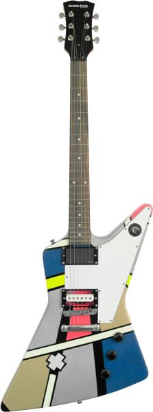 Stretton Payne X Shape Artist Series Electric Guitar Herliquin