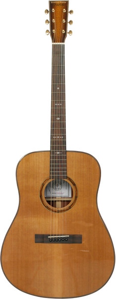 Stretton Payne Custom Shop EARTH D300 Dreadnought Acoustic Guitar, Size 41 inches, Solid Cedar Top, Lacewood Back, Lacewood Sides.