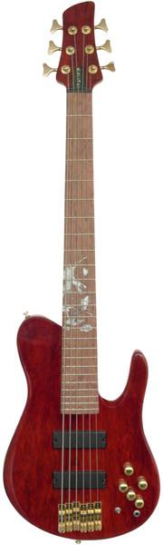 Stretton Payne Custom Shop ELECTRIC BASS GUITAR 6 String Red