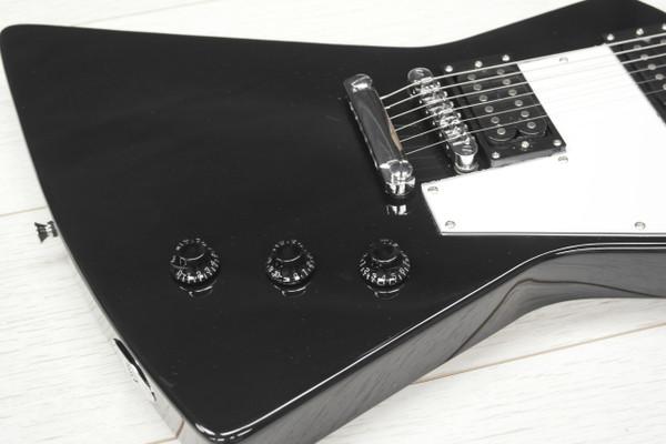 Stretton Payne X Shape Standard Electric Guitar Black