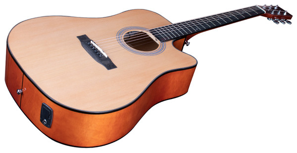 Stretton Payne Signature Series, Dreadnought Acoustic Guitar, Full Size, Steel String, Spruce Top, AD-08CEQ