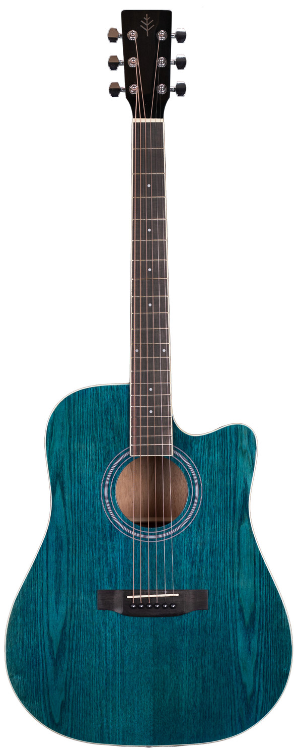 Stretton Payne Signature Series, Dreadnought Acoustic Guitar, Full Size, Steel String, Ash Top, AD-11CBL