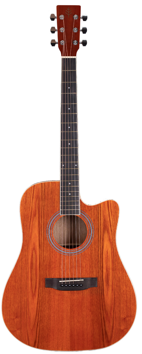 Stretton Payne Signature Series, Dreadnought Acoustic Guitar, Full Size, Steel String, Ash Top, AD-11CRD