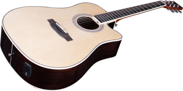 Stretton Payne Signature Series, Dreadnought Acoustic Guitar, Full Size, Steel String, Englemann Spruce Top, AD-15CEQN