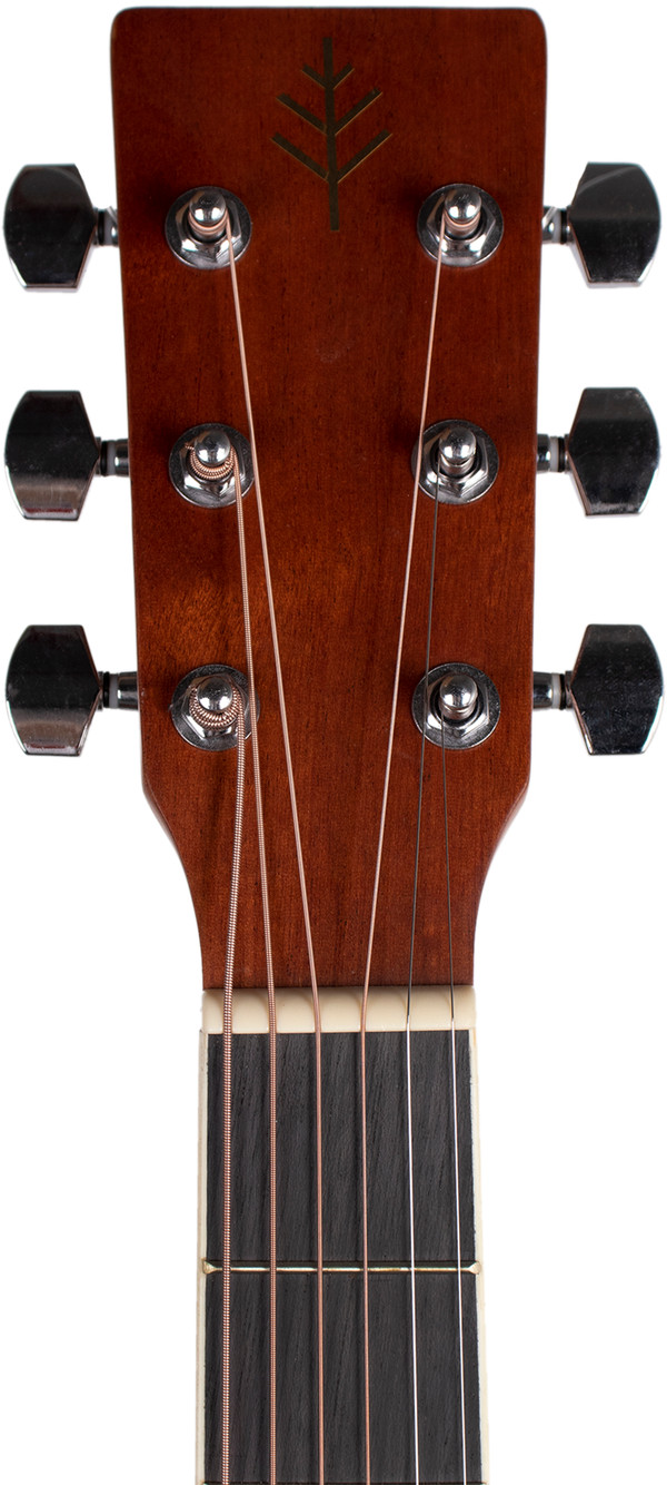 Stretton Payne Signature Series, Dreadnought Acoustic Guitar, Full Size, Steel String, Mahogany Top, AD-12C