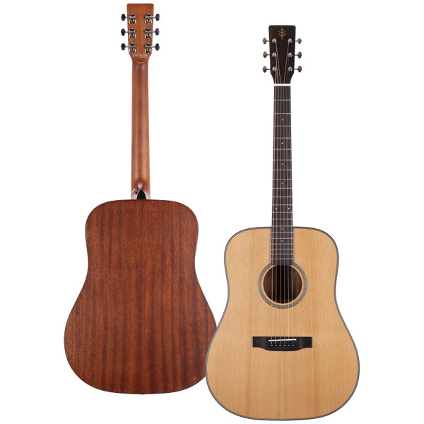 Stretton Payne Professional Signature Series, Solid Top Dreadnought Acoustic Guitar, Full Size, Steel String, Solid Cedar Top, ADS-62
