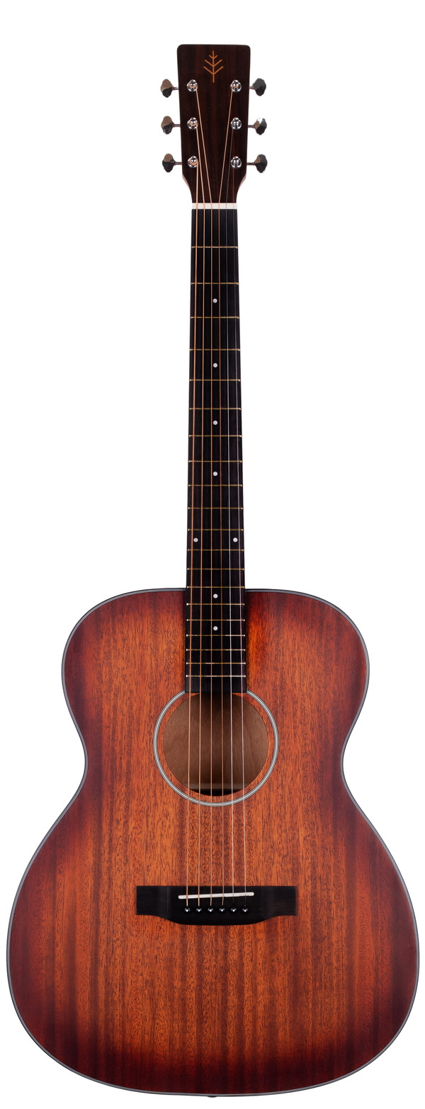 Stretton Payne Signature Series, Auditorium Acoustic Guitar, Full Size, Steel String, Solid Mahogany Top, AOS-63