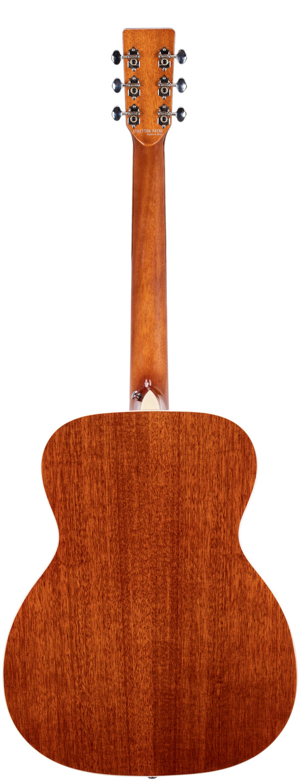 Stretton Payne Signature Series, Auditorium Acoustic Guitar, Full Size, Steel String, Solid Spruce Top, AOS-68
