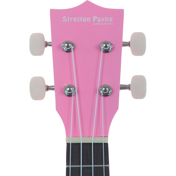 Soprano Ukulele Pink with Gig Bag and Online Ukulele Course