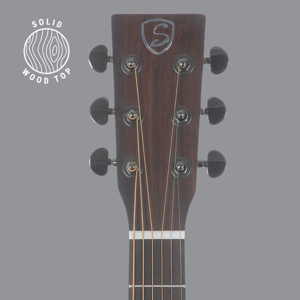 Stretton Payne D25 Solid Spruce Wood Top Cutaway Acoustic Guitar with Rosewood Back And Sides Natural