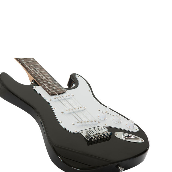 Stretton Payne Kids Electric Guitar and Amp Pack - Age 7-11 - Black