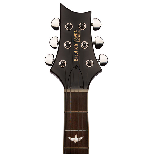 Stretton Payne RS Electric Guitar with practice amplifier, padded bag, strap, lead, plectrum, tuner, spare strings. Guitar in Greenburst