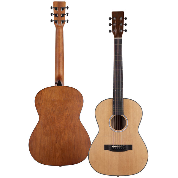 Stretton Payne Signature Series, Travel Mini Acoustic Guitar, 36 inch 3/4 size, Steel String, Spruce Top, AM-36Q