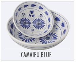 Quimper French Pottery Camaieu Blue