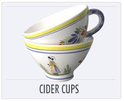 Tea Cups & Saucers, Cider Cups, Espresso Cups