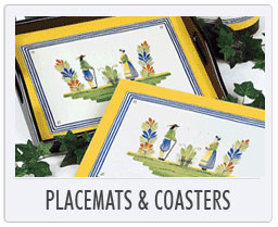 Lady Clare Placemats & Coasters