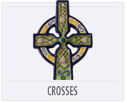 Quimper French Pottery Crosses