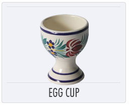 Quimper French Pottery Egg Cups